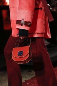 Hermes Red Saddle Bag 2 - Fall 2018