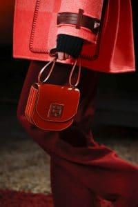 Hermes Red Saddle Bag - Fall 2018
