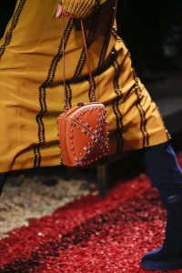 Hermes Tan Studded Clou Medor Mini Bag - Fall 2018