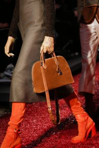 Hermes Tan Suede Bolide Bag - Fall 2018