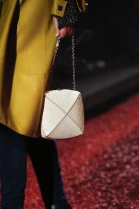 Hermes White Lizard Clou Medor Mini Bag - Fall 2018