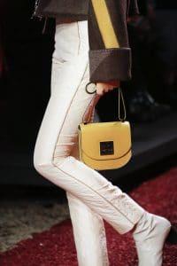Hermes Yellow Saddle Bag - Fall 2018