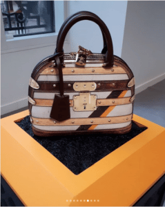 Louis Vuitton Beige/Brown Alma Bag - Fall 2018