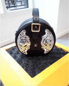 Louis Vuitton Black Embellished Petite Boite Chapeau Bag - Fall 2018