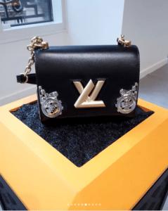 Louis Vuitton Black Embellished Twist Bag - Fall 2018