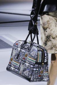 Louis Vuitton Black Multicolor Printed Duffle Bag - Fall 2018