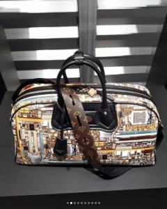 Louis Vuitton Black/Gold Printed Duffle Bag - Fall 2018