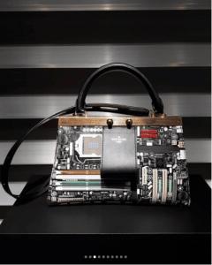 Louis Vuitton Black/Gold Printed Small Top Handle Bag - Fall 2018