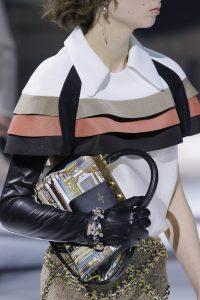 Louis Vuitton Black/Gold Printed Top Handle Bag 2 - Fall 2018