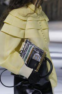 Louis Vuitton Black/Gold Printed Top Handle Bag 3 - Fall 2018