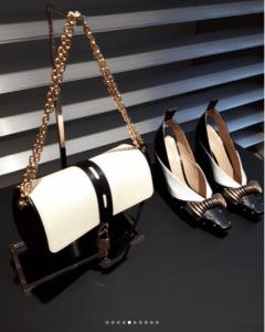 Louis Vuitton Black/White Epi Flap Bag - Fall 2018