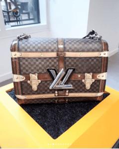 Louis Vuitton Damier Canvas Twist Bag - Fall 2018