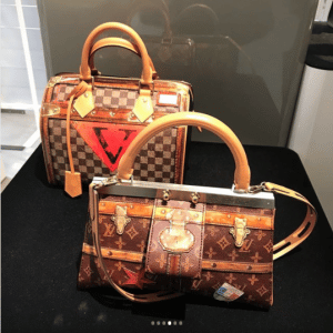 Louis Vuitton Damier and Monogram Canvas Top Handle Bags - Fall 2018