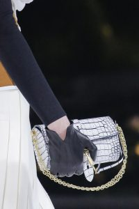 Louis Vuitton Gray Crocodile Mini Bag - Fall 2018