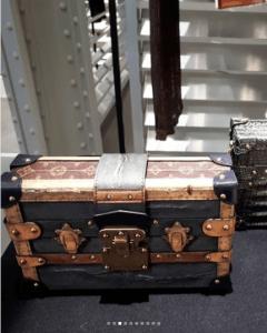 Louis Vuitton Gray Monogram Canvas Petite Malle Bag - Fall 2018