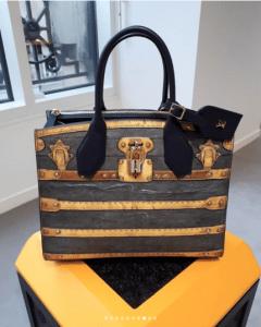 Louis Vuitton Gray/Beige City Steamer Bag - Fall 2018