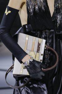 Louis Vuitton Gray/Brown Top Handle Bag - Fall 2018