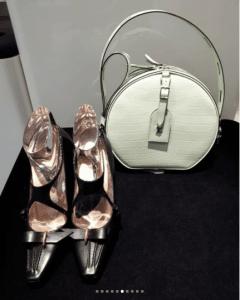 Louis Vuitton Ivory Crocodile Petite Malle Bag - Fall 2018