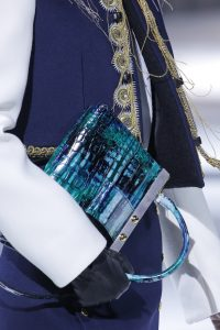 Louis Vuitton Metallic Turquoise Top Handle Bag - Fall 2018