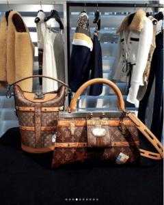 Louis Vuitton Monogram Canvas Bucket Bag and Top Handle Bag - Fall 2018