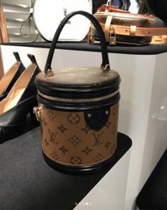 Louis Vuitton Monogram Reverse Bucket Bag - Fall 2018