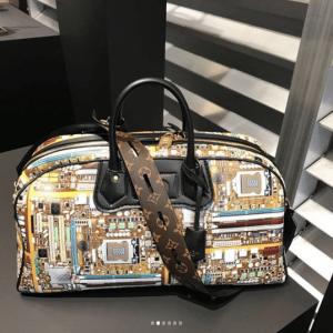 Louis Vuitton Multicolor Print Duffle Bag - Fall 2018