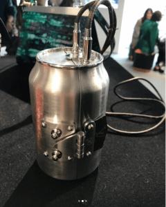 Louis Vuitton Silver Soda Can Minaudiere Bag - Fall 2018