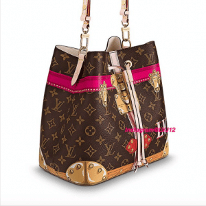 Louis Vuitton Summer Trunks Monogram Canvas Neonoe Bag