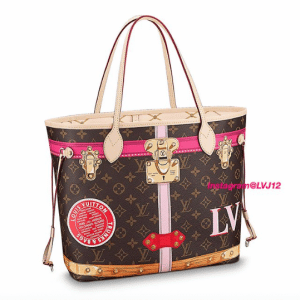 Louis Vuitton Summer Trunks Monogram Canvas Neverfull MM Bag