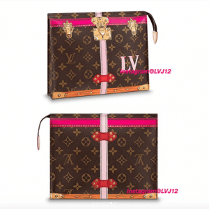 Louis Vuitton Summer Trunks Monogram Canvas Poche Toilette 26
