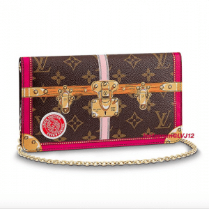 Louis Vuitton Summer Trunks Monogram Canvas Pochette Weekend Bag