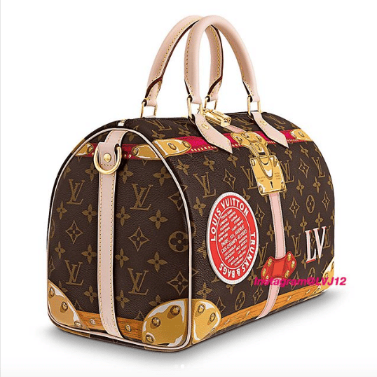 90f4bd21d940 Louis Vuitton Summer Trunks Monogram Canvas Speedy Bandouliere 30 Bag 2.  IG  lvj12
