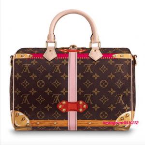 Louis Vuitton Summer Trunks Monogram Canvas Speedy Bandouliere 30 Bag 3