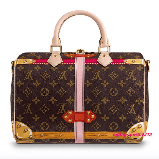 1db50b9ce445 Louis Vuitton Summer Trunks Monogram Canvas Speedy Bandouliere 30 Bag 3.  IG  lvj12