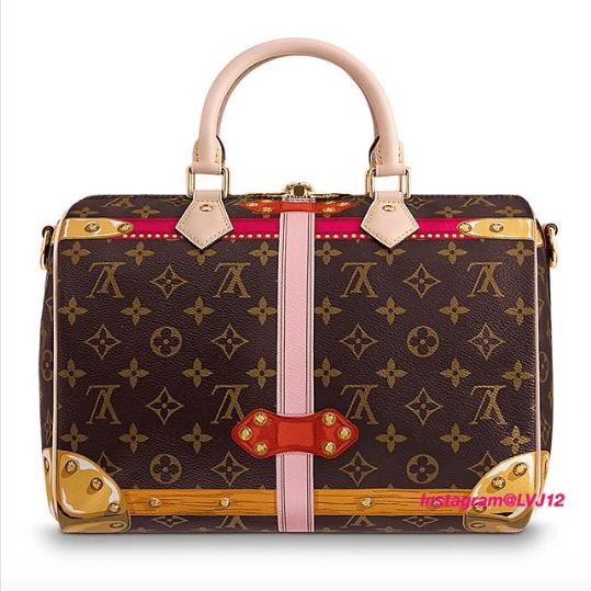 Louis Vuitton Summer Trunks Monogram Canvas Speedy Bandouliere 30 Bag 3.  IG  lvj12 8d33f8b3f6e63