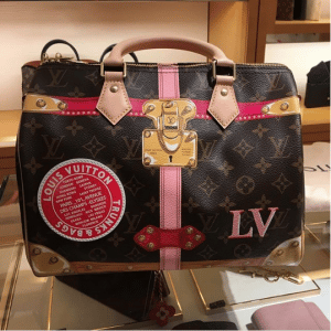 Louis Vuitton Summer Trunks Monogram Canvas Speedy Bandouliere 30 Bag 6