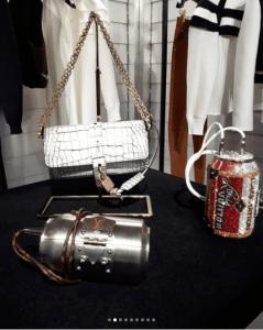 Louis Vuitton White Crocodile Flap and Can Minaudiere Bags - Fall 2018