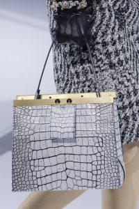 Louis Vuitton White Crocodile Top Handle Bag - Fall 2018