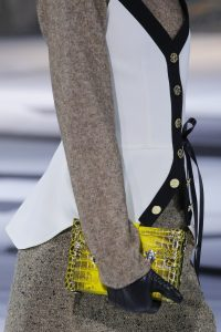 Louis Vuitton Yellow Crocodile Petite Malle Bag - Fall 2018