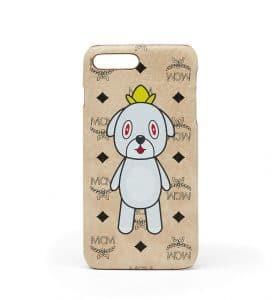 MCM x Eddie Kang Beige Gray iPhone 6S and 7 Plus Case