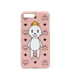 MCM x Eddie Kang Soft Pink Loveless iPhone 6S and 7 Plus Case
