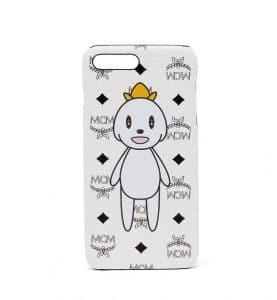 MCM x Eddie Kang White Loveless iPhone 6S and 7 Plus Case