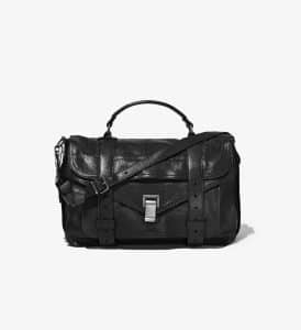 Proenza Schouler Black PS1 Medium Bag