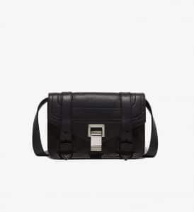Proenza Schouler Black PS1+ Mini Crossbody Bag