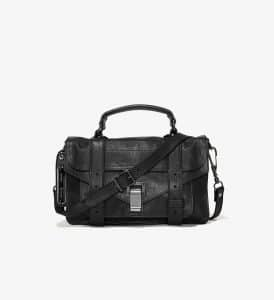 Proenza Schouler Black PS1 Tiny Bag