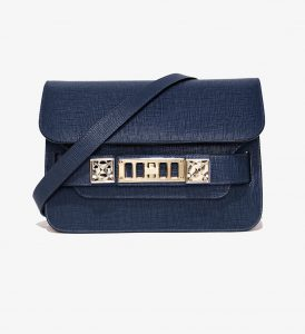 Proenza Schouler Indigo PS11 Mini Classic Bag