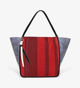 Proenza Schouler Red/Blue Woven Extra Large Tote Bag