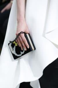 Valentino Black Floral Minaudiere Bag 2 - Fall 2018