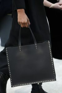 Valentino Black Rockstud Tote Bag - Fall 2018