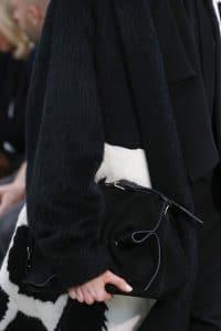 Valentino Black Velvet Shoulder Bag - Fall 2018